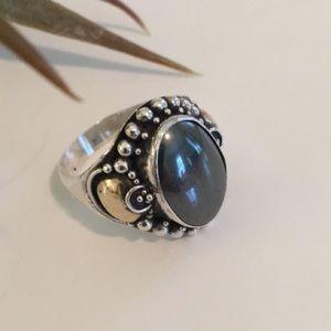 💕💕Sterling Silver Hematite Ring